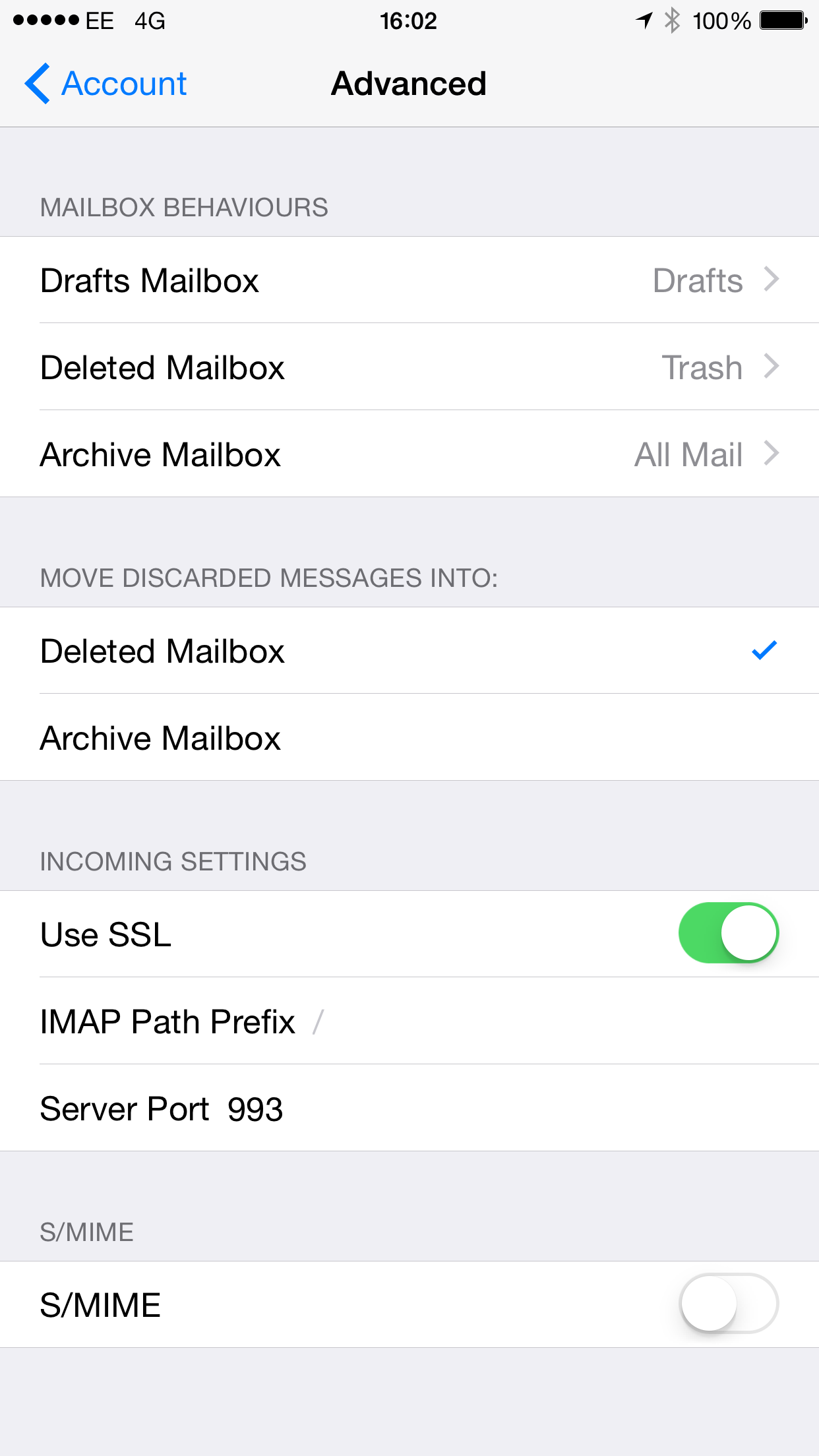How to delete mailbox 95