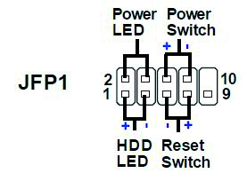build your own pc how to connect the case and fan cables 9 rh expertreviews co uk computer power switch pins computer power switch pins