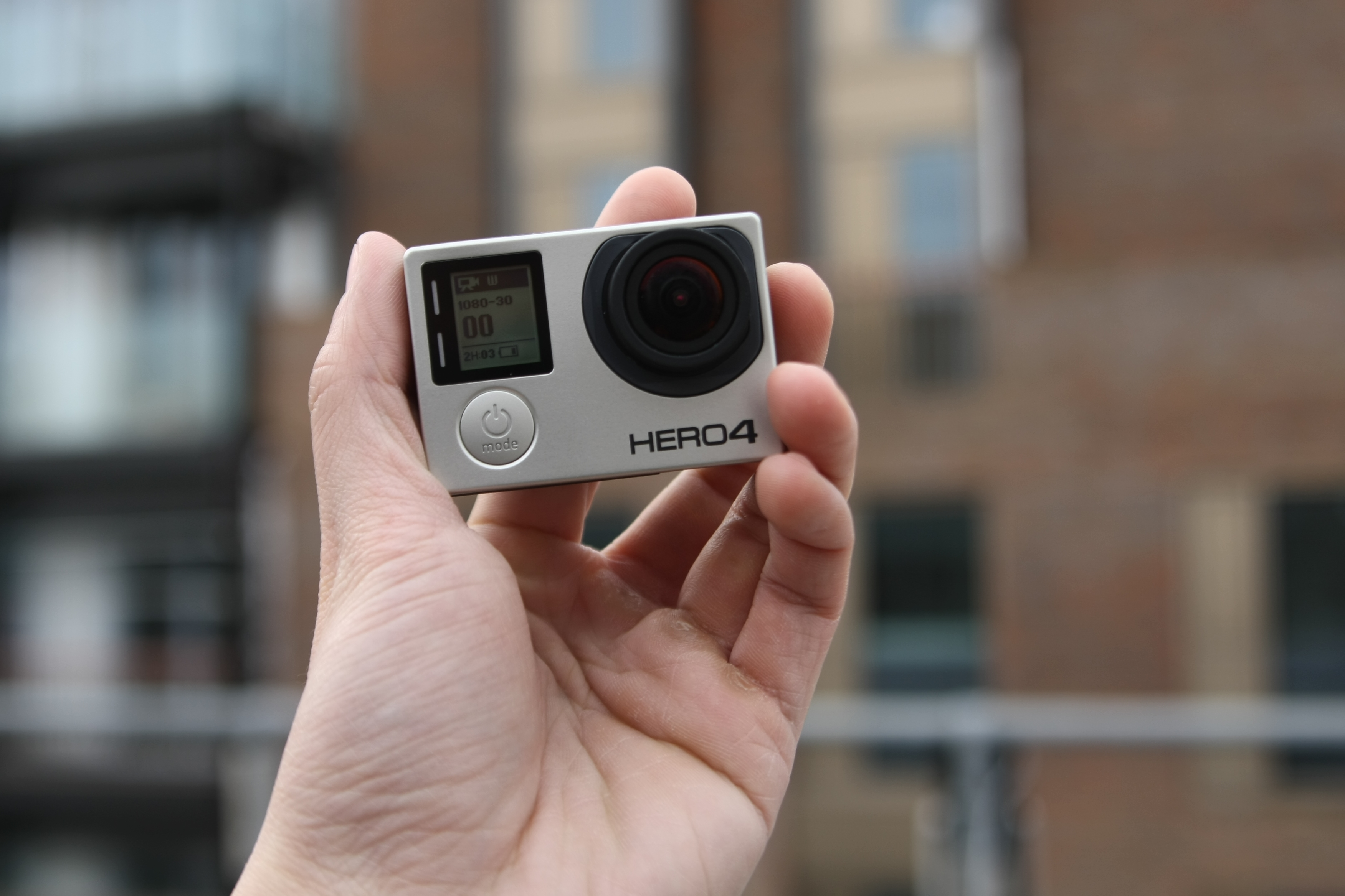 GoPro Hero 4 Black no case