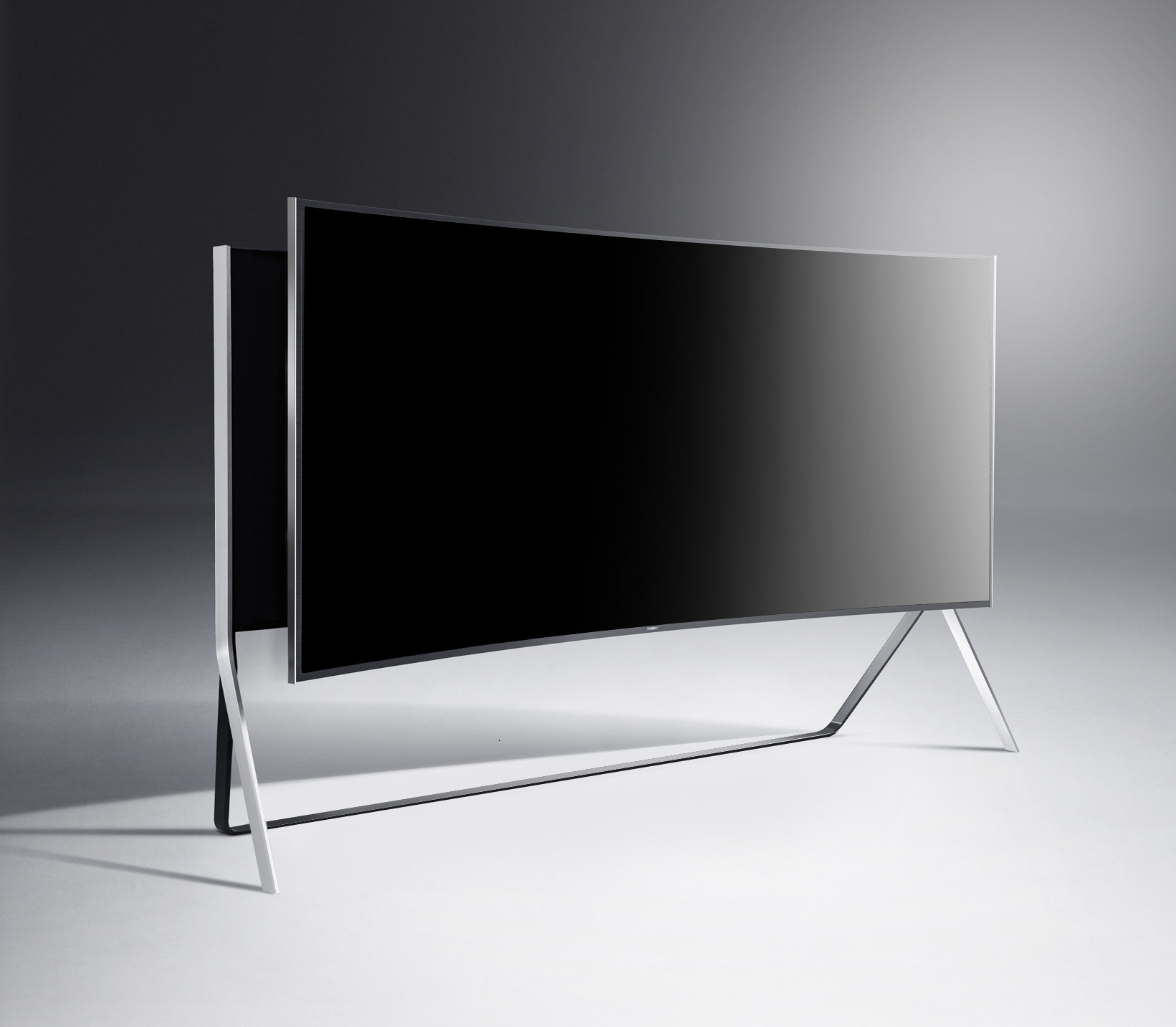 samsung curved tv 105. the 105in monster is also world\u0027s largest curved tv and has a 21:9 aspect ratio samsung tv 105