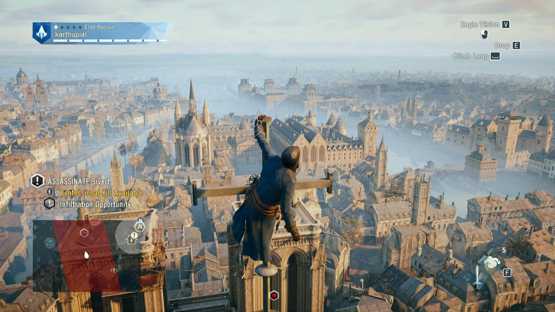 Unity Line Art Map : Assassin s creed unity pc review expert reviews