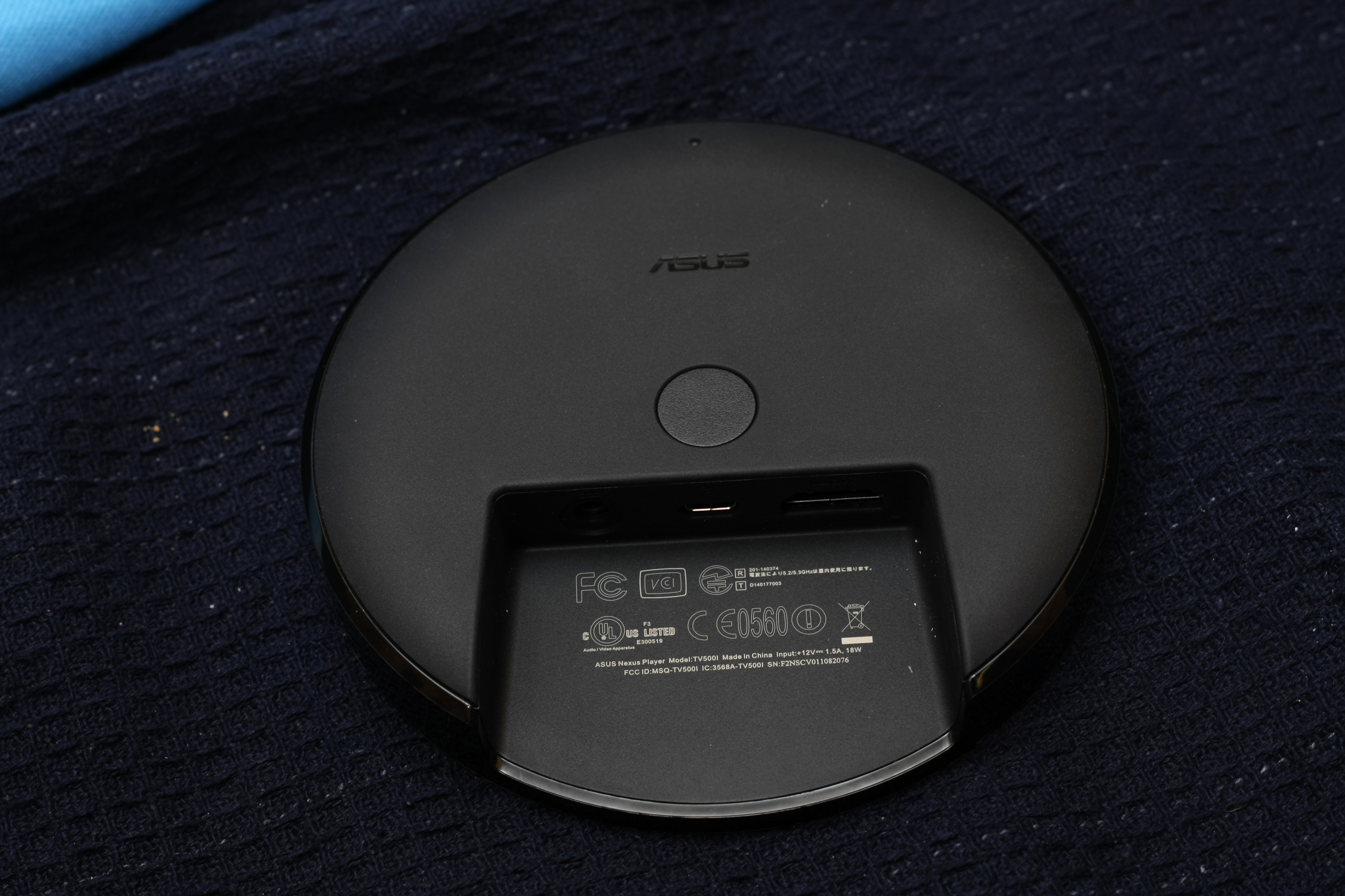 Nexus Player Bottom Connections
