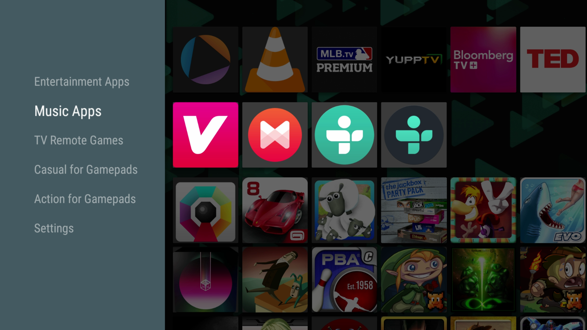 Android Tv Music Apps