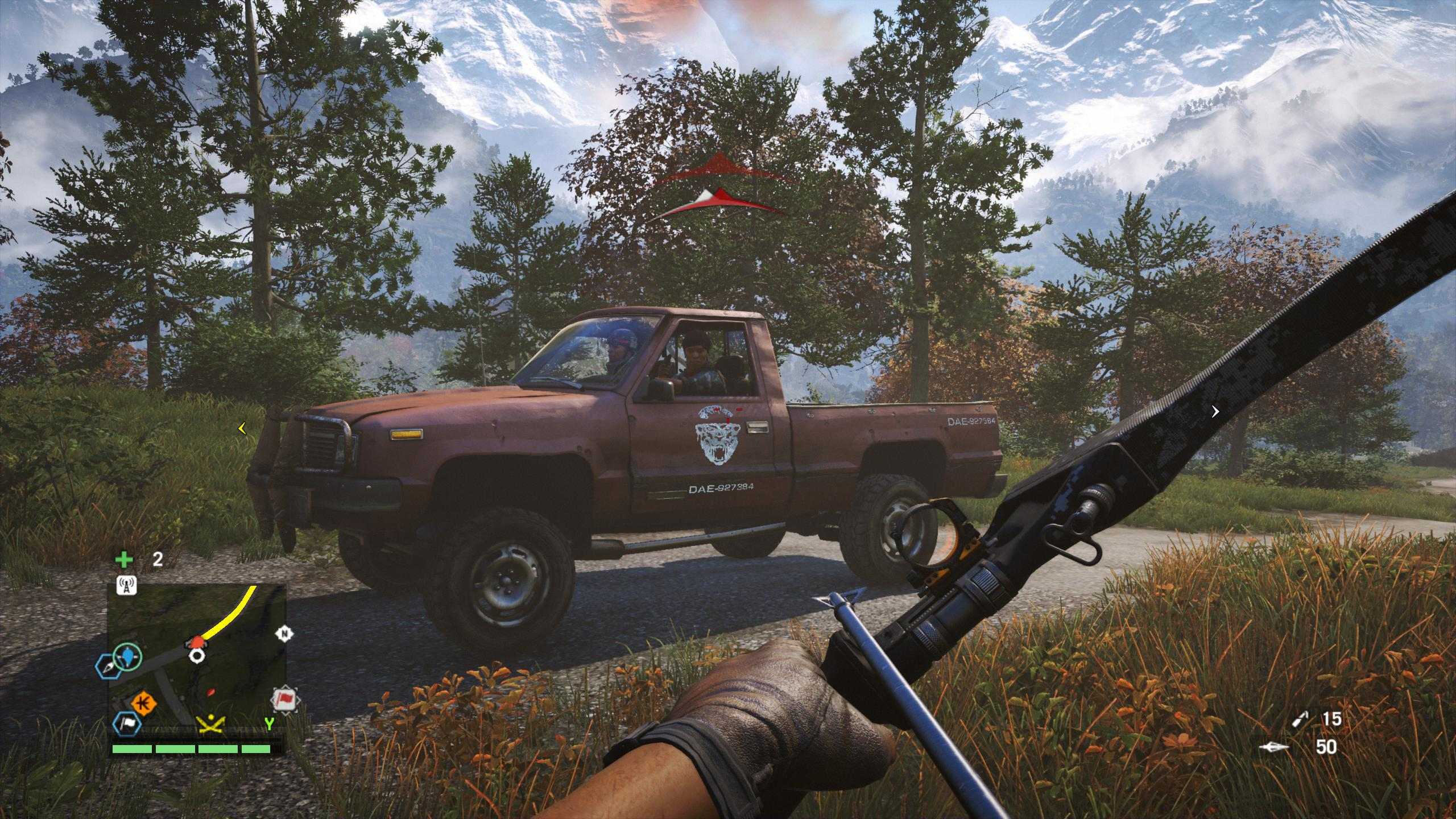 how to use knife in far cry 3 xbox 360