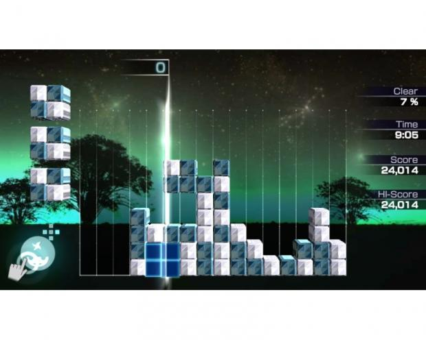 Lumines Header