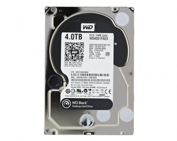 Western Digital Caviar Black 4TB