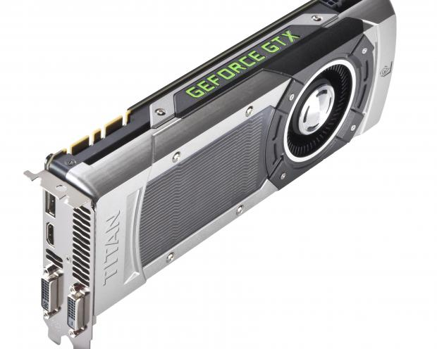 Nvidia GTX Titan 3/4 Top Shot