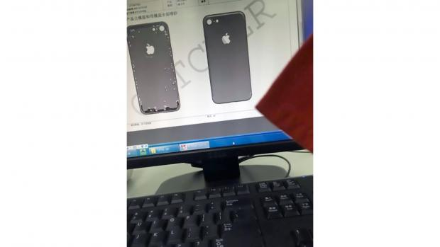 iPhone 7 first leaked image of the chassis