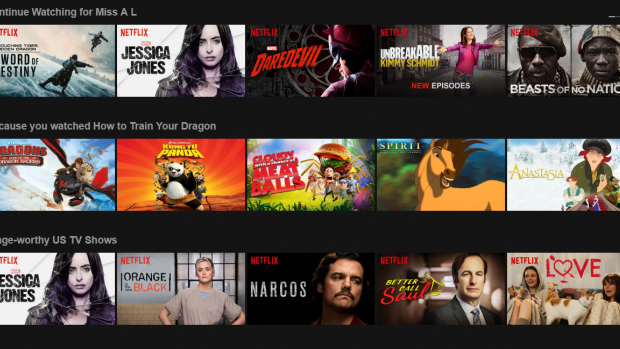 how to remove show from continue watching netflix