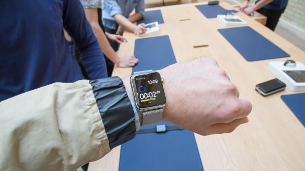 Apple Watch hands on hero shot