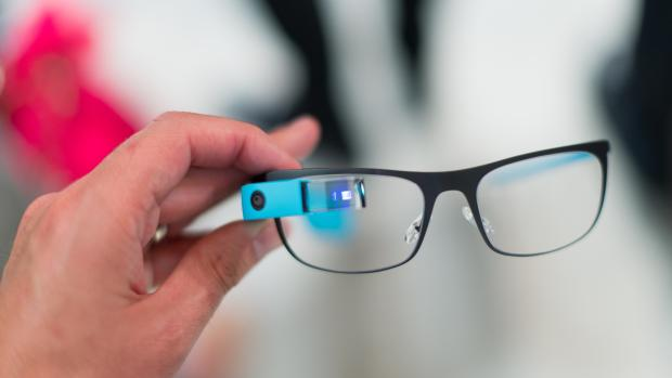Google Glass prescription screen and camera
