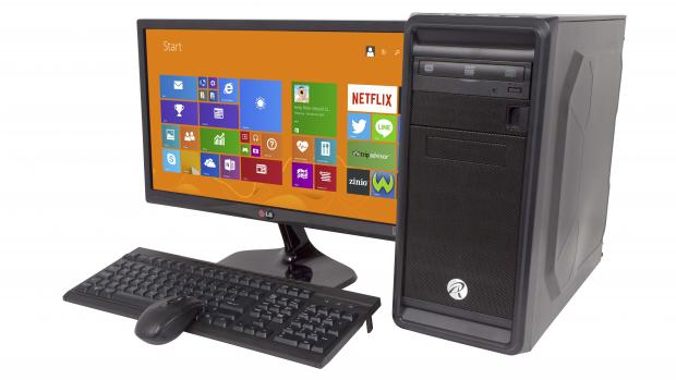 Wired2Fire Diablo Ultima with keyboard, mouse and monitor
