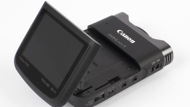 Canon Legria Mini-X articulating