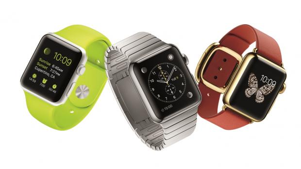 Apple Watch group shot