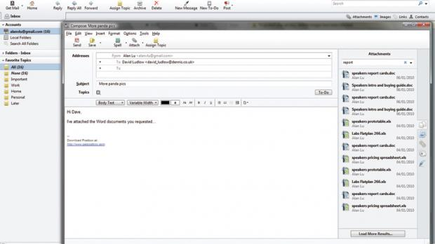 Postbox Email Client Compose