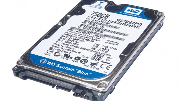 Western Digital Scorpio Blue 750GB