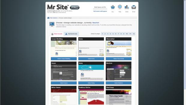 MrSite Takeaway Website Pro