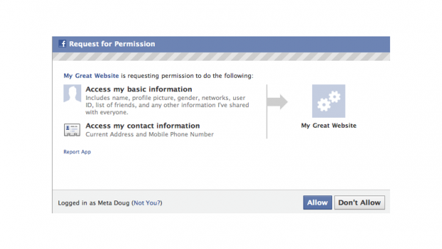 Facebook disables phone number and address sharing