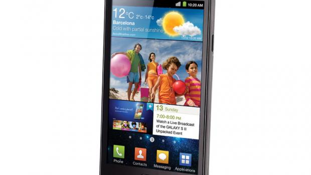 Galaxy S2 front