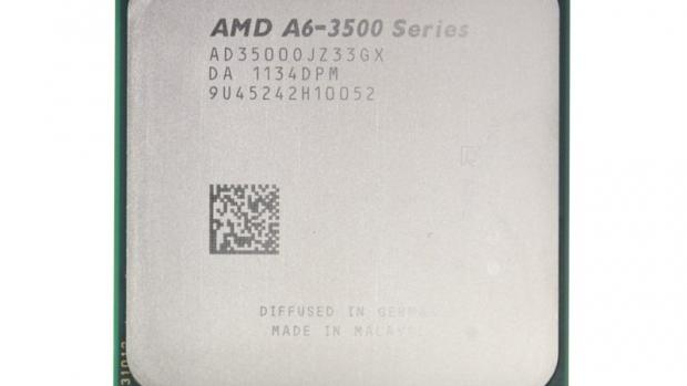 AMD A6-3500 front