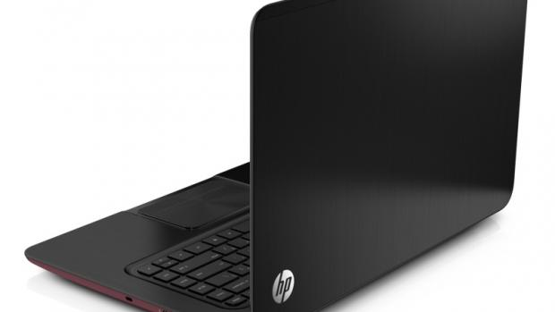 HP Envy Ultrabook left hand side
