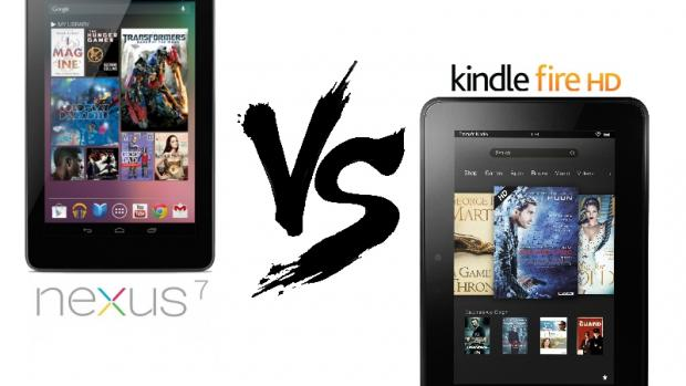 Kindle Fire HD vs Google Nexus 7