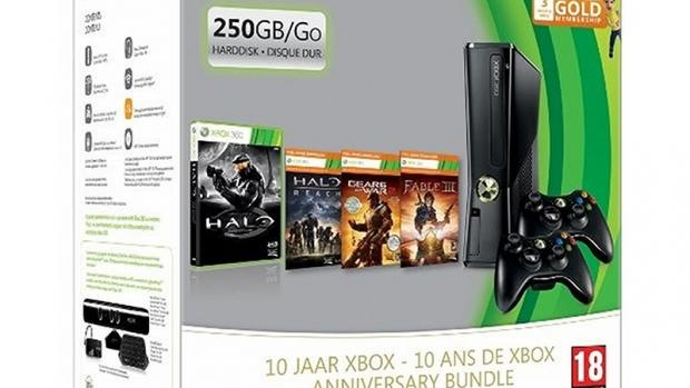 Xbox 360 anniversary edition bundle