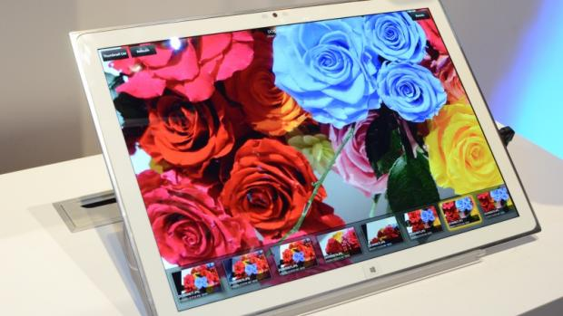 Panasonic 20 inch 4k tablet