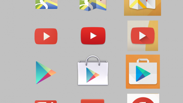 Google Android Moonshine redesign
