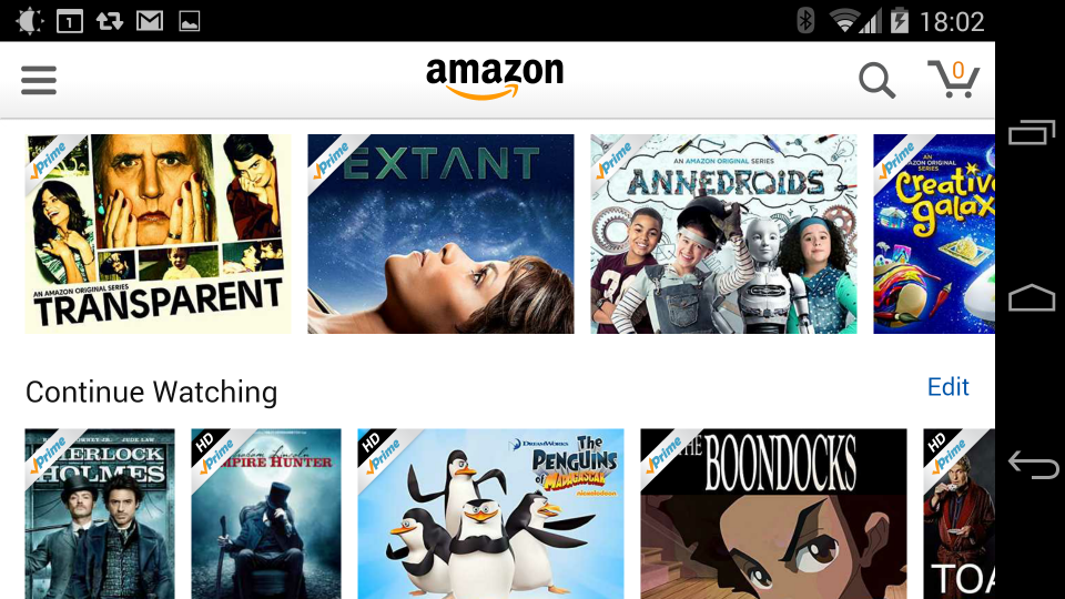 can you watch amazon video on android styles
