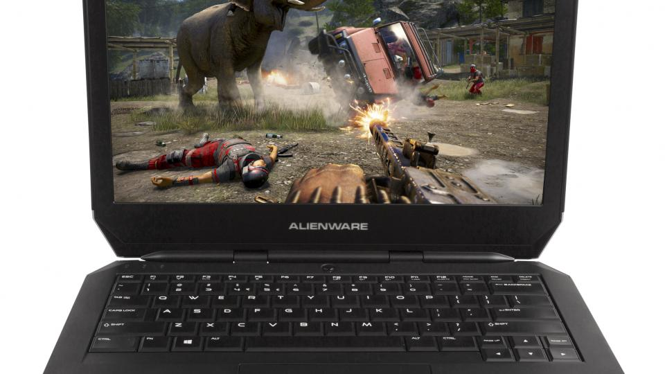 Alienware 13 open