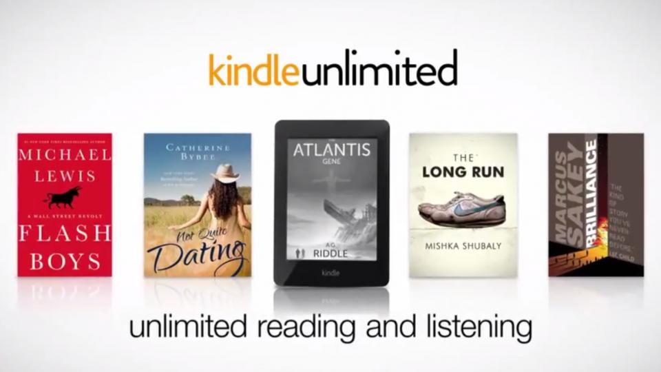 amazon kindle unlimited netflix for books arrives in uk