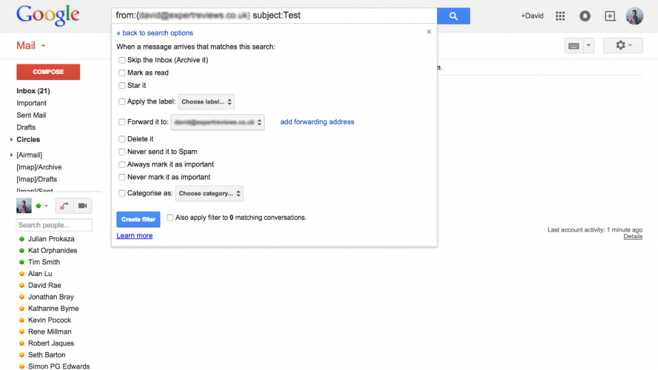 how to get gmail to forward mail