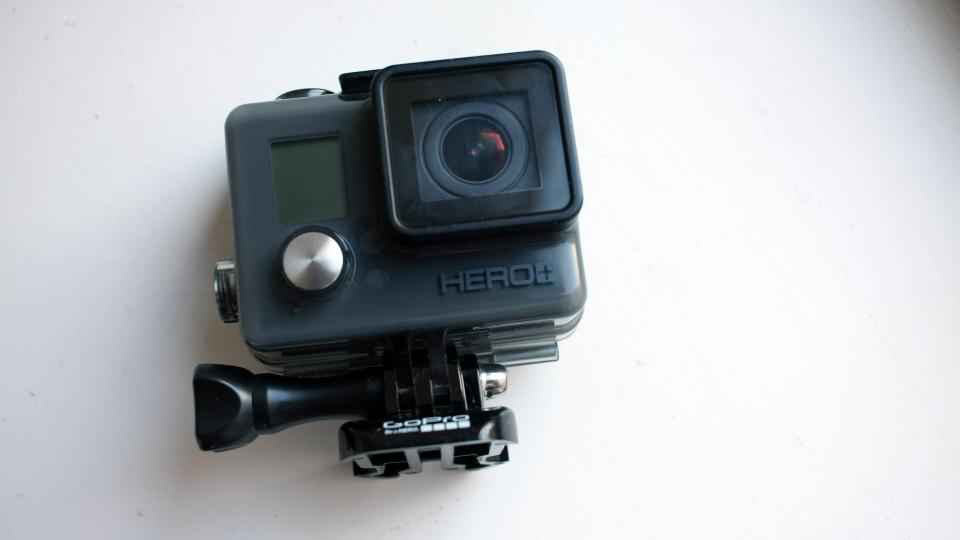 GoPro Hero+ LCD front on
