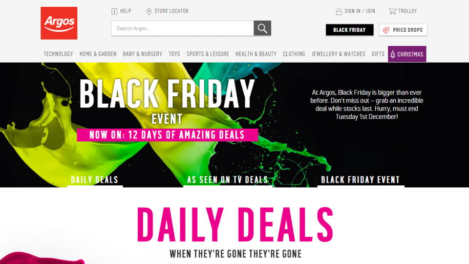 argos black dating site Dating offers shop garden shop  what black friday argos deals you should look out for and how to make your  the argos site received half a million visits.