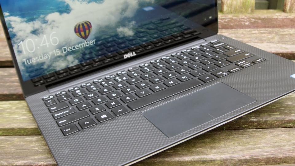 Dell XPS 13 keyboard touchpad