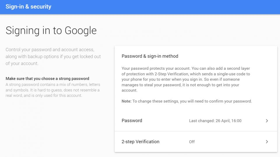how to change my gmail password if i forgot it