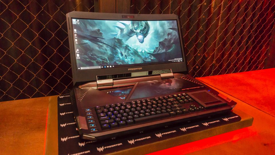 acer predator 21x review hands on with the world s most