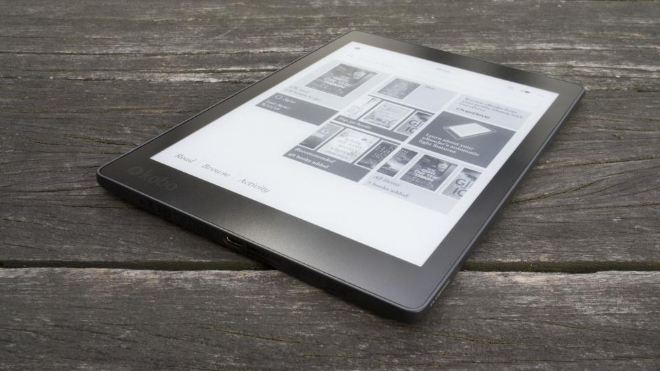 Kobo Aura One side