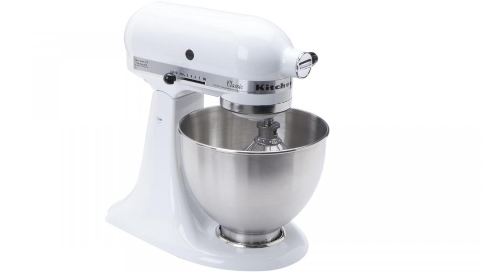 KitchenAid K45SS Classic Mixer: The Classiest Looking Stand Mixer Around