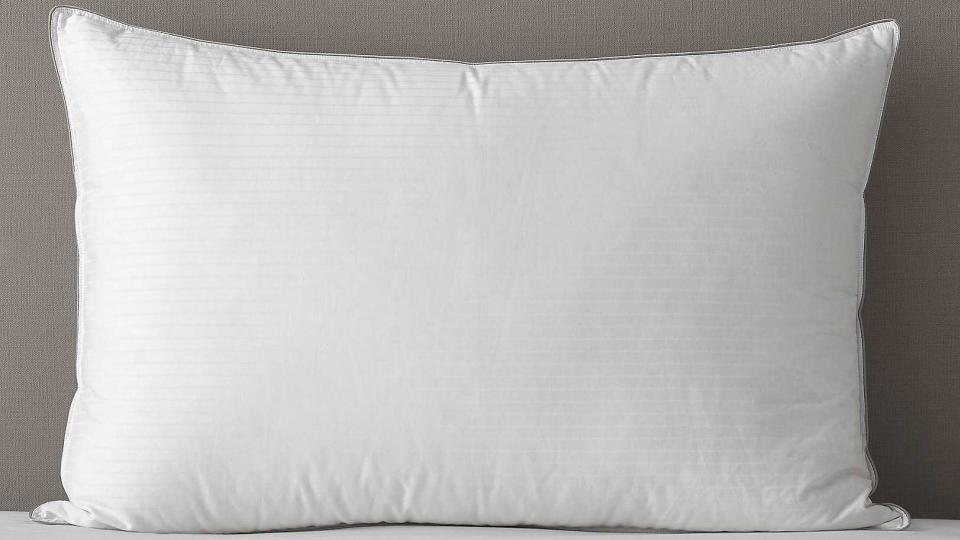 Best pillows the best microfibre memory foam and down for Company store down pillows