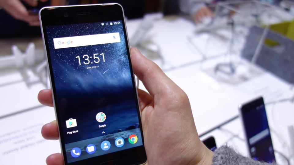 nokia 5 smartphone. nokia 5 review: hands on with nokia\u0027s full-metal-bodied smartphone