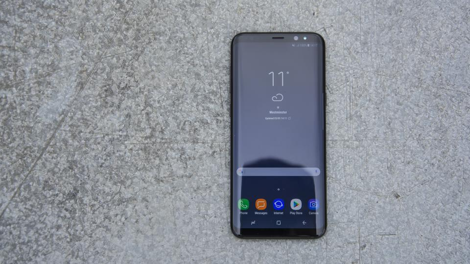 samsung galaxy s8 plus review is samsung 39 s monster worth the price jump expert reviews. Black Bedroom Furniture Sets. Home Design Ideas