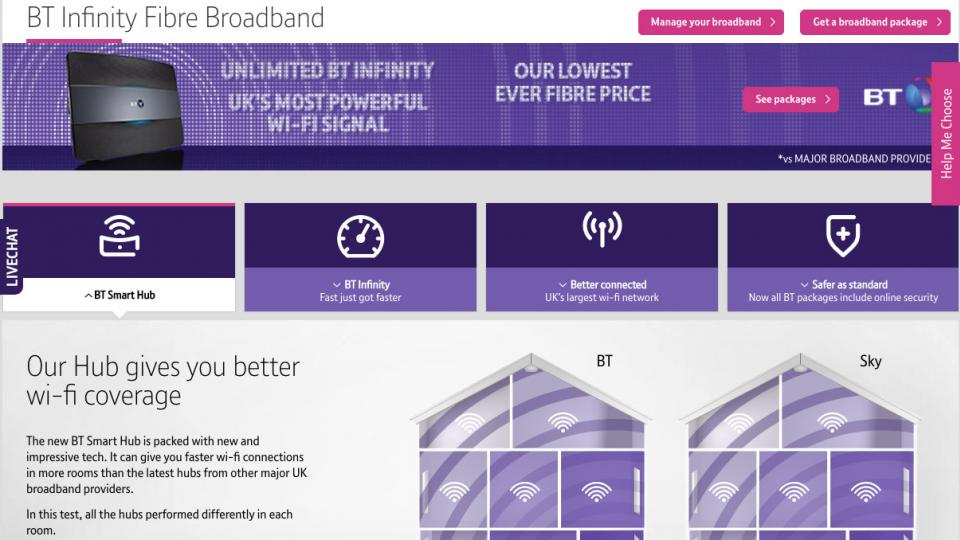 Best internet options in my area