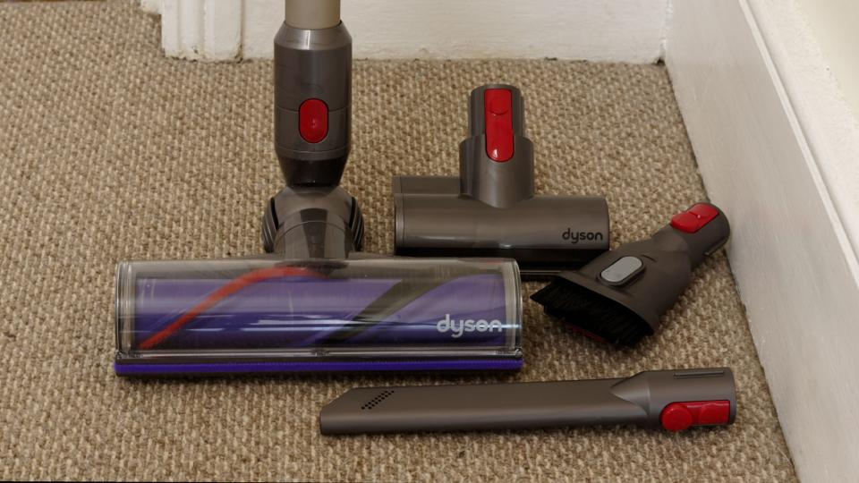 dyson v8 animal review a cheaper alternative to the cyclone v10 expert reviews. Black Bedroom Furniture Sets. Home Design Ideas