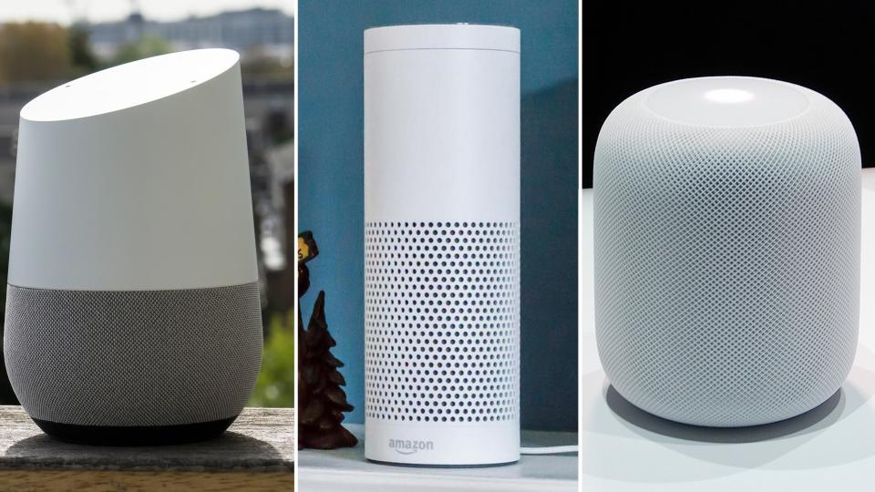 google home vs amazon echo vs apple homepod find out the best smart speaker in 2017 expert. Black Bedroom Furniture Sets. Home Design Ideas