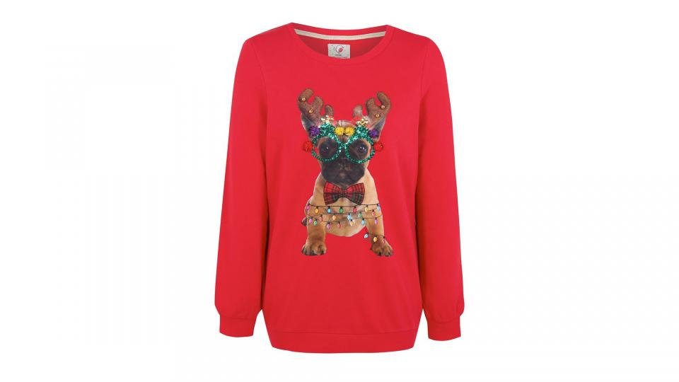 French Bulldog Christmas Jumper.Best Christmas Jumpers Get In The Festive Spirit With The