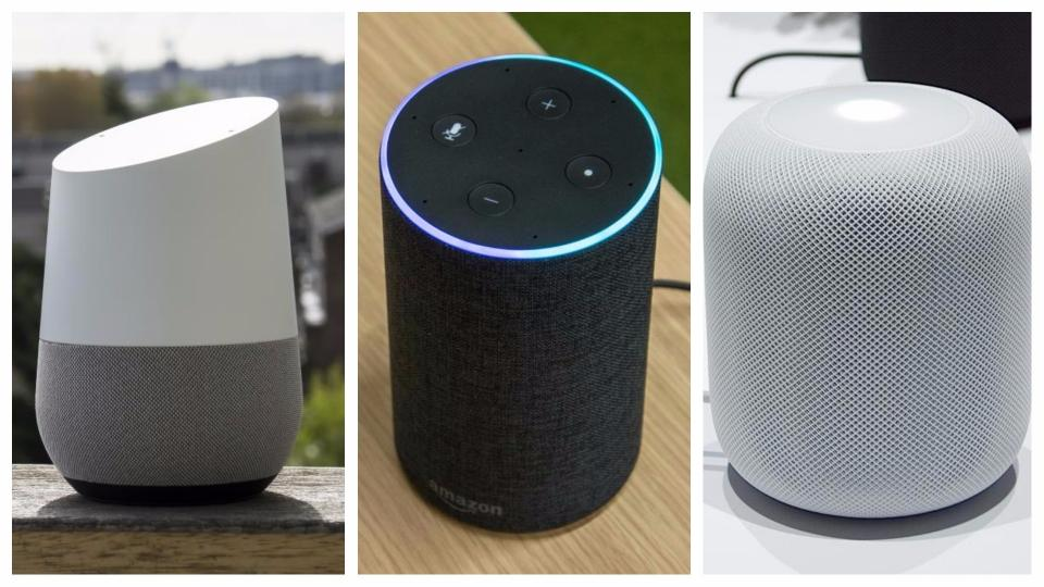 speakers in amazon. google home vs amazon echo 2 apple homepod: the smart speakers are reduced this black friday in