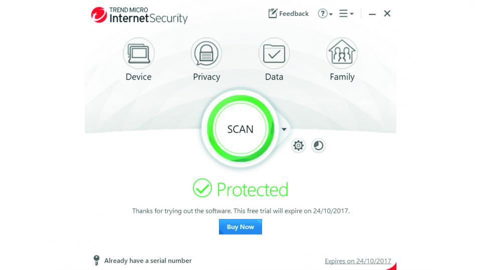 Trend Micro Internet Security review: Likeable software