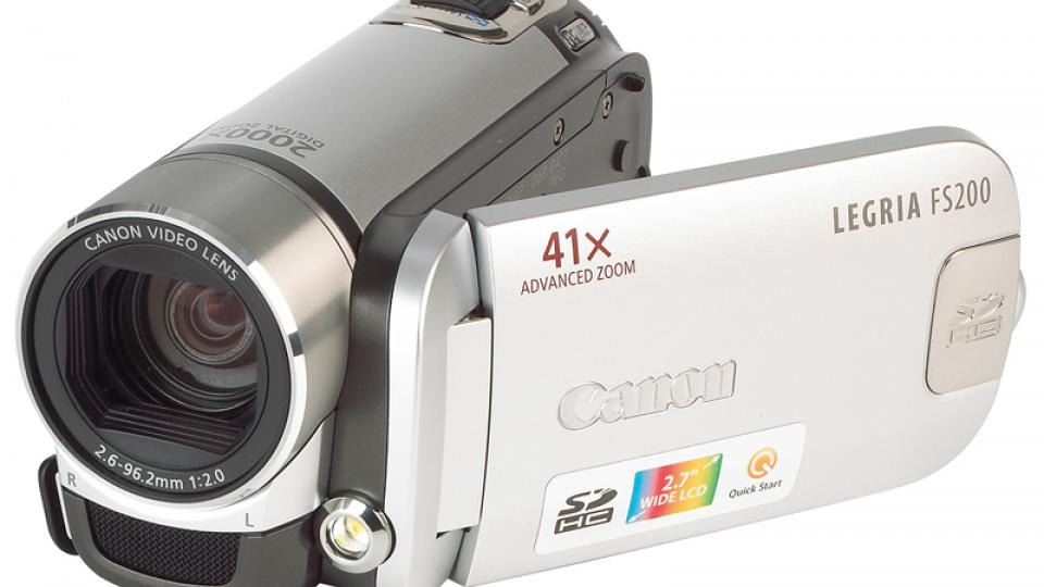 canon legria fs200 review expert reviews rh expertreviews co uk canon fs100 user manual Canon FS200 Software